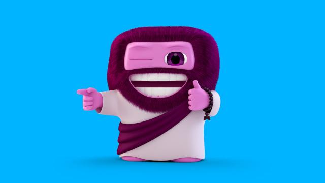 Gum Boy Original Form - Buddy