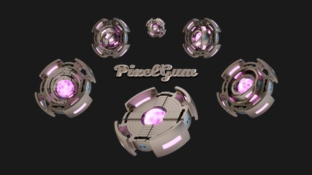 PixelGum Gravity Engine