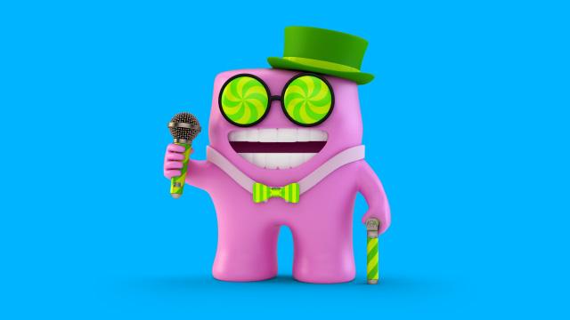 Gum Boy Original Form - Game Show Host