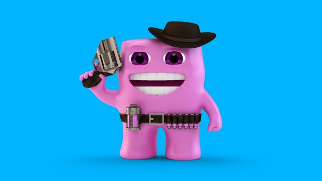 Gum Boy Original Form - Space Cowboy